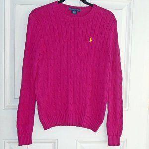 Ralph Lauren Medium Cotton Cable-Knit Sweater